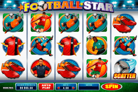 football star microgaming pokie