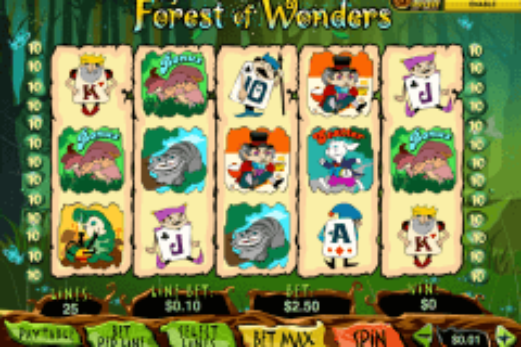 forest of wonder playtech pokie