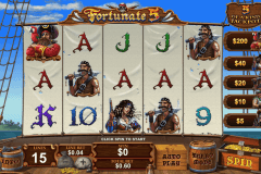fortunate five playtech pokie
