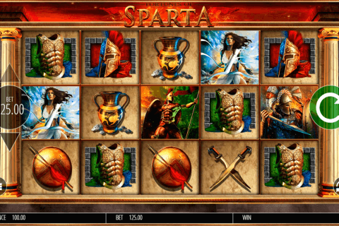 fortunes of sparta blueprint pokie
