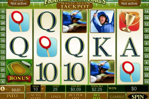 frankie dettoris magic  jackpot playtech pokie