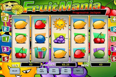 fruit mania playtech pokie