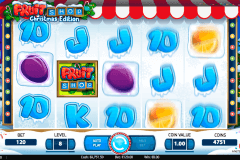 fruit shop christmas edition netent pokie