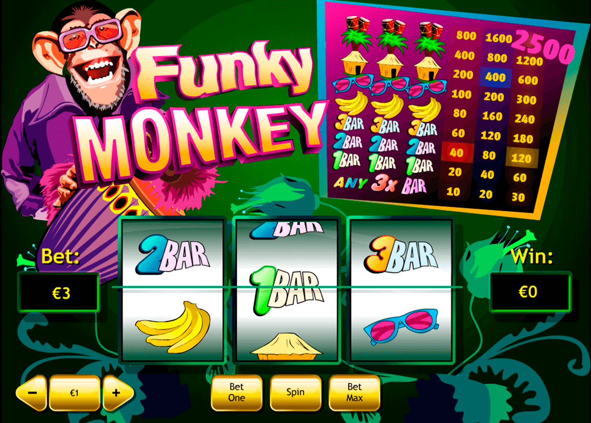 funky monkey playtech pokie