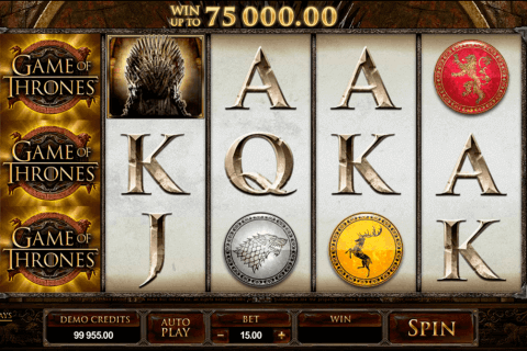 game of thrones  lines microgaming pokie