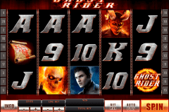 ghost rider playtech pokie