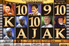 gladiator jackpot playtech pokie