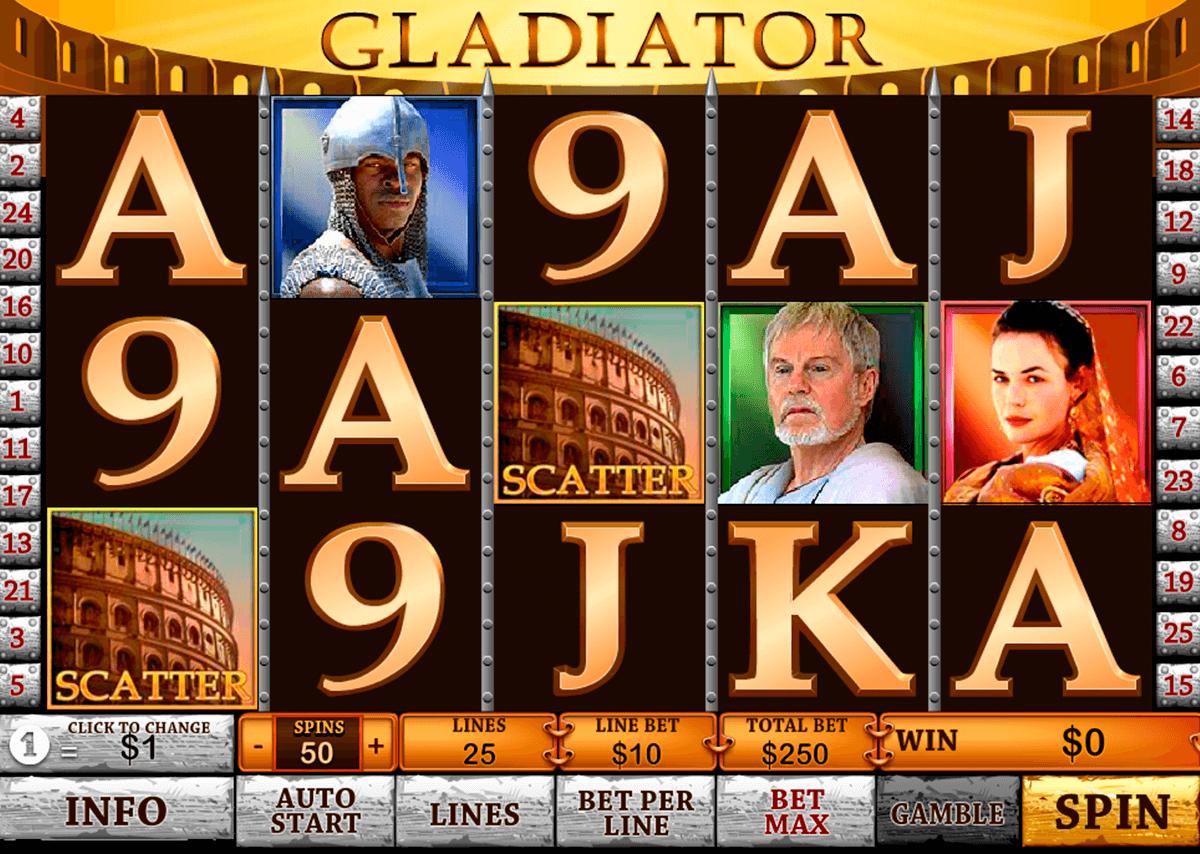 gladiator playtech pokie