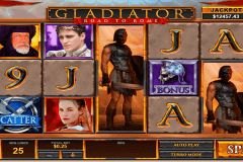 gladiator road to rome playtech pokie