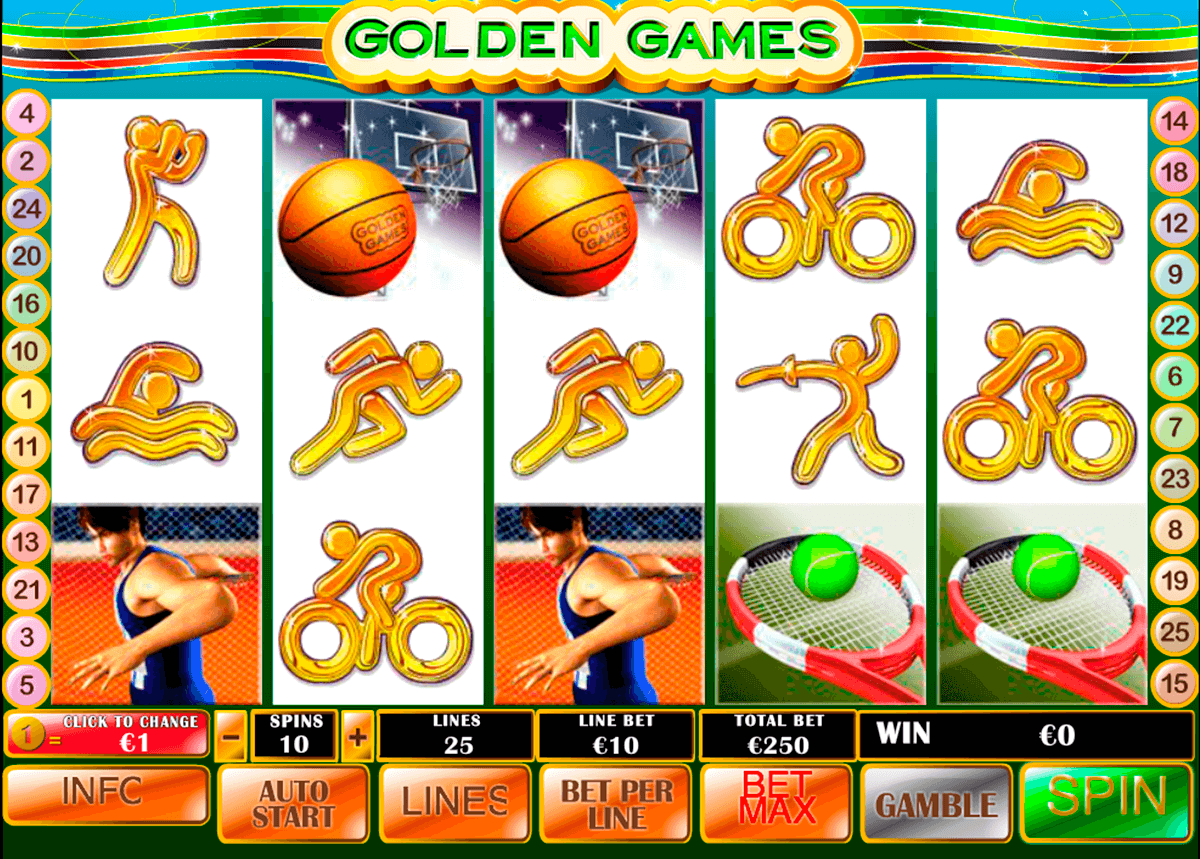 golden games playtech pokie