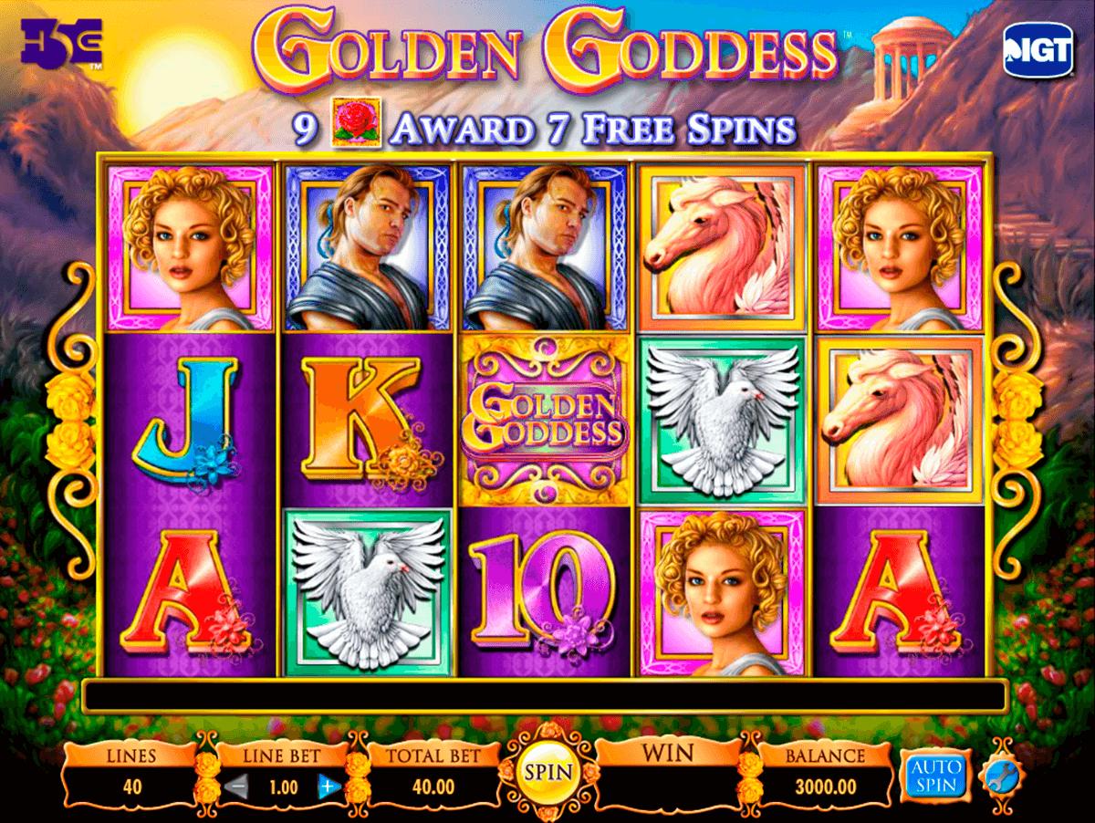 golden goddess igt pokie