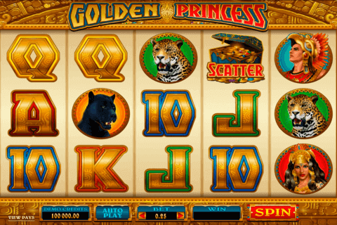 golden princess microgaming pokie