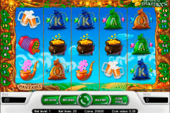 golden shamrock netent pokie