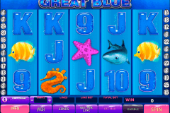 great blue playtech pokie