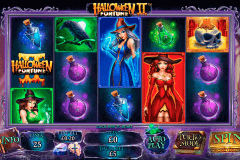 halloween fortune ii playtech pokie