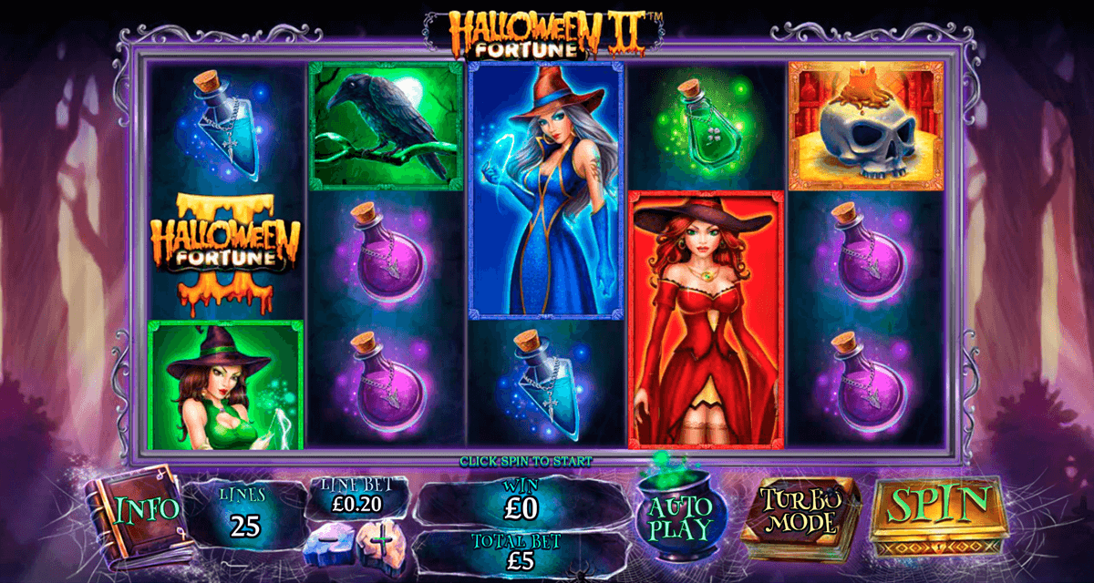 Play Halloween Fortune at Casino.com NZ