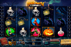 halloween fortune playtech pokie