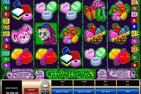 halloweenies microgaming pokie