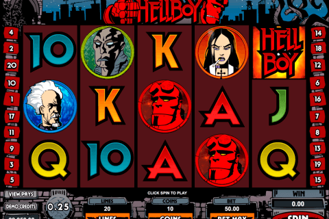 hellboy microgaming pokie