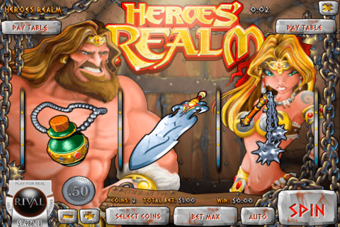 heroes realm rival pokie