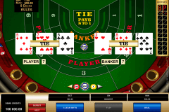 high limit baccarat microgaming