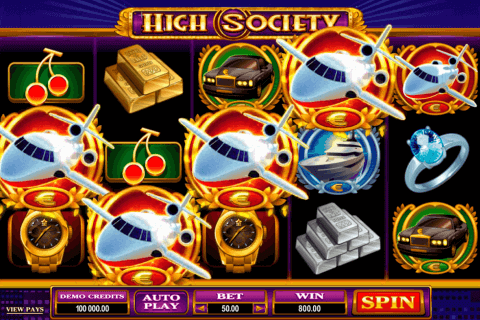 high society microgaming pokie