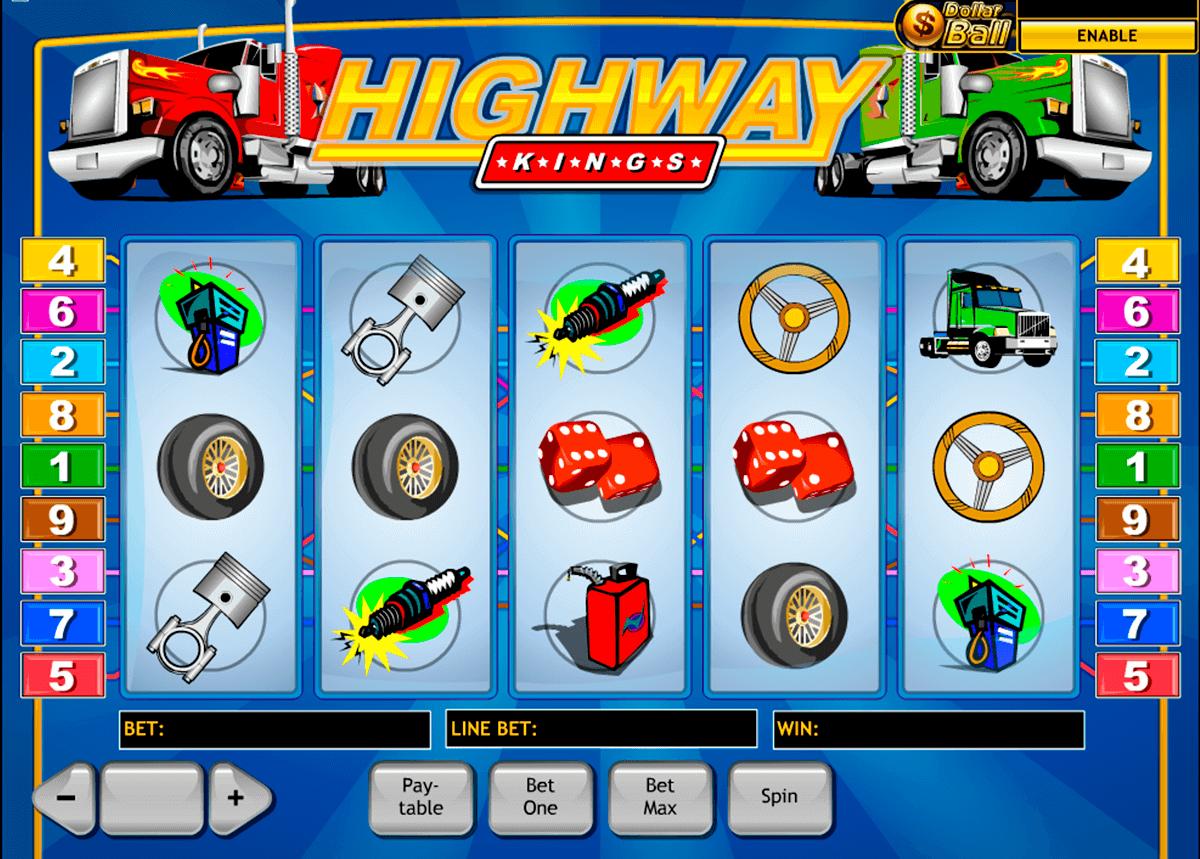 highway kings playtech pokie