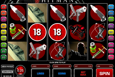 hitman microgaming pokie