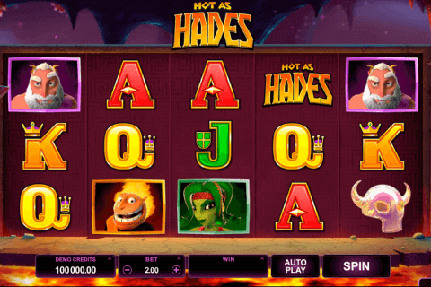 hot as hades microgaming pokie