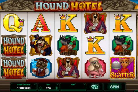 hound hotel microgaming pokie