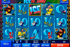 ice hockey playtech pokie