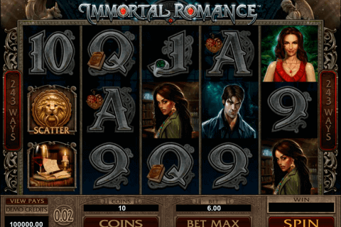 immortal romance microgaming pokie