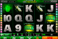 incredible hulk playtech pokie