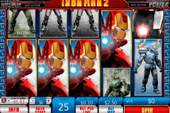 iron man  playtech pokie