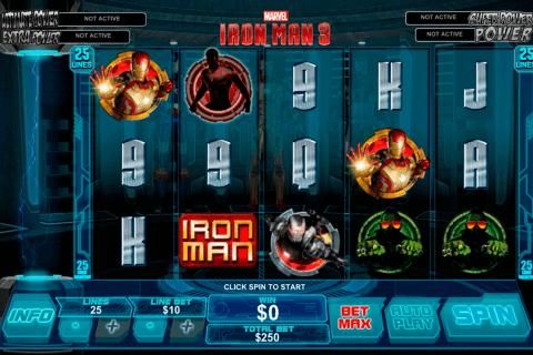 iron man  playtech pokie