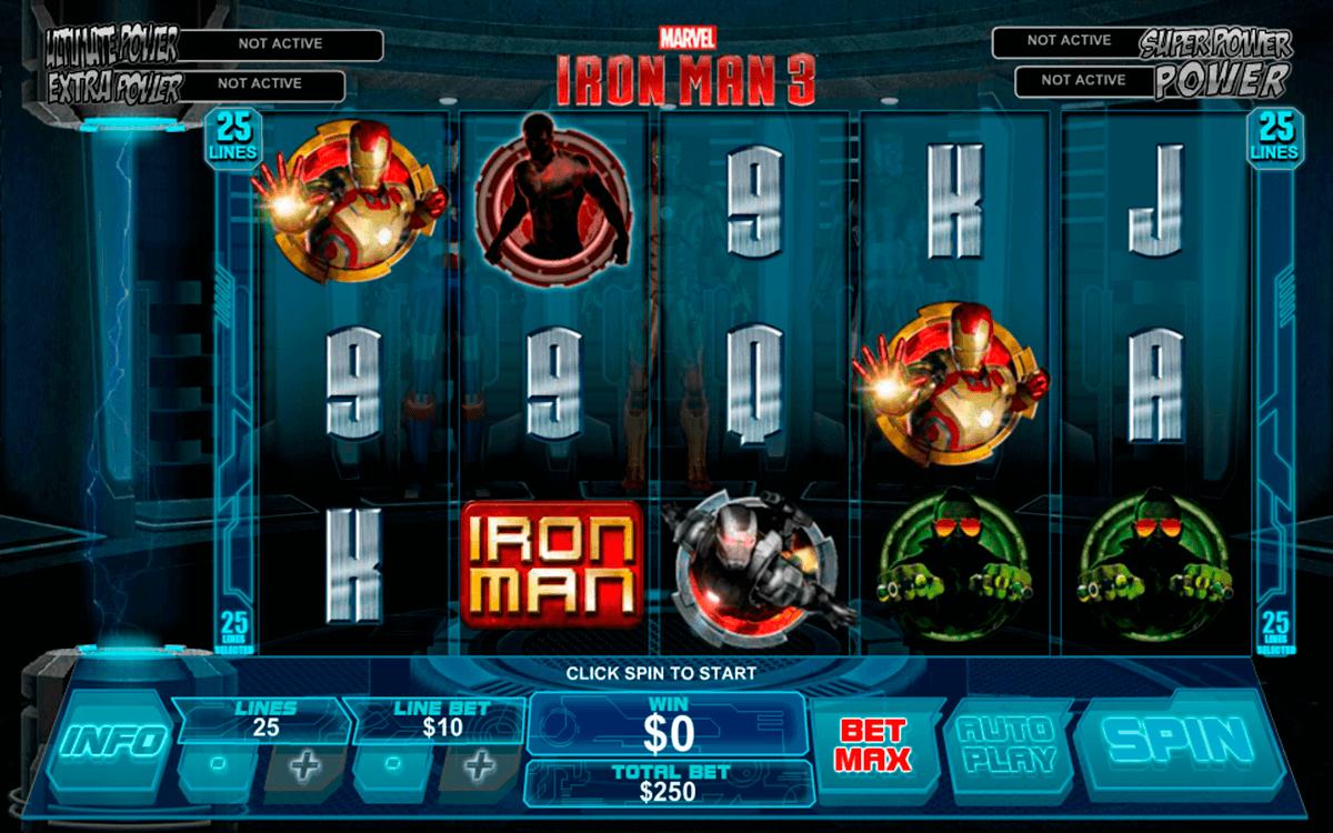 Free Slots Iron Man 3