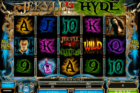 jekyll hyde microgaming pokie