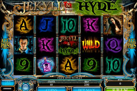 jekyll hyde microgaming pokie