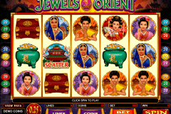 jewels of the orient microgaming pokie