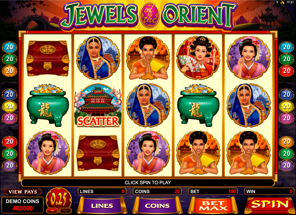 Jewels of Atlantis™ Slot Machine Game to Play Free in AshGamings Online Casinos