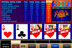 joker poker microgaming video poker