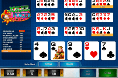 joker poker playn go video poker