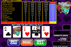 joker poker video poker rtg video poker