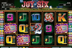 joy of si microgaming pokie