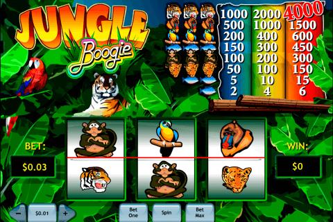 jungle boogie playtech pokie