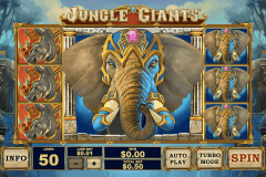 jungle giants playtech pokie