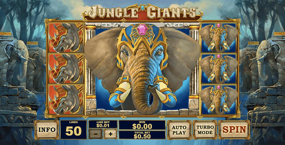 jungle giants playtech pokie