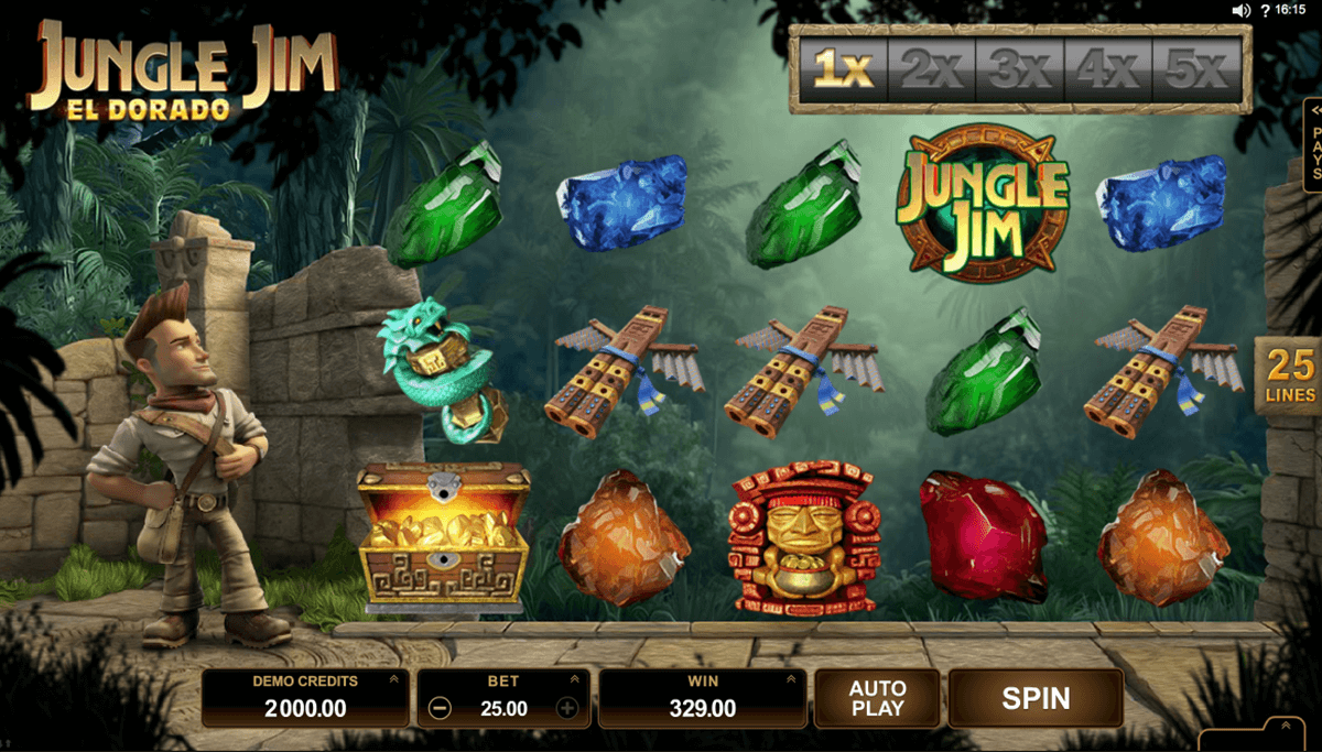 jungle jim el dorado microgaming pokie