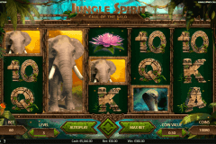 jungle spirit call of the wild netent pokie