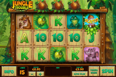 jungle trouble playtech pokie